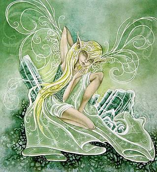 Green Tourmaline by Ora  Moon