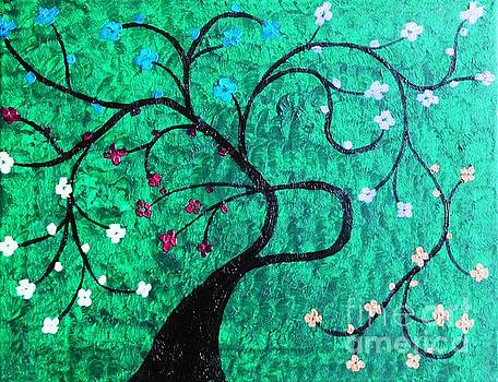 Green Tree by Dawn Plyler