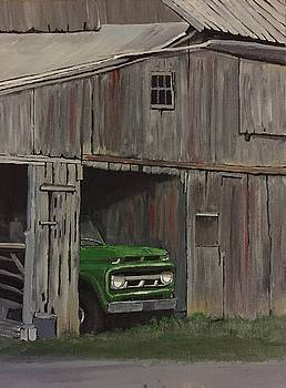 Green Truck by Helen Kuhn