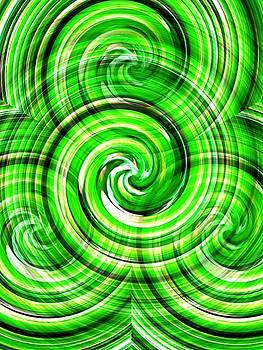 Green Twister by Dietmar Scherf