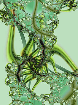 Green Vines by Frederic Durville