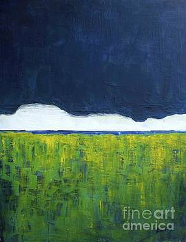 Green Wheat Field by Vesna Antic