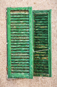 David Letts - Green Window Shutters of Tuscany