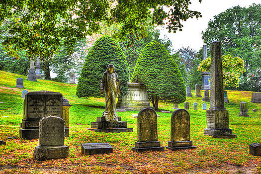 Green-Wood Cemetery 15 by Randy Aveille