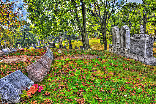 Green-Wood Cemetery 25 by Randy Aveille