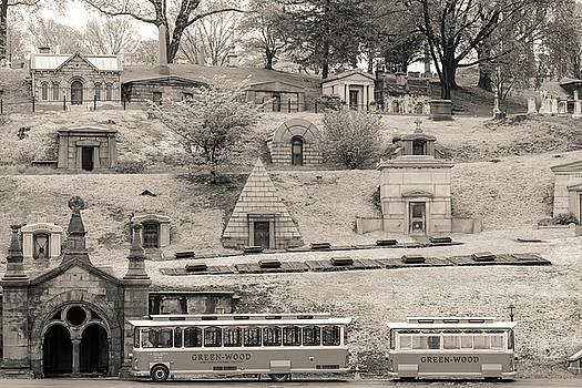 Green Wood cemetery by Frank Freni