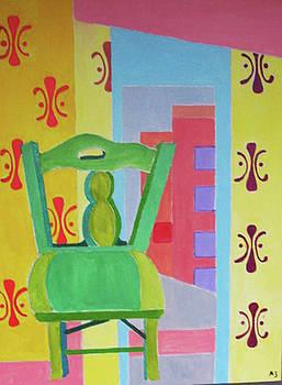 Greenchair by Martin Silverstein