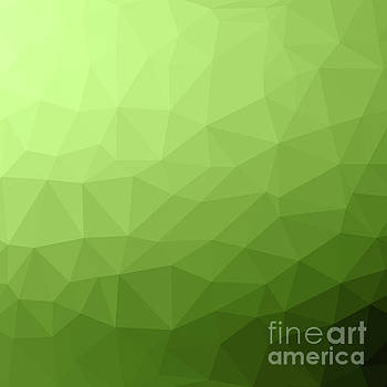 Greenery ombre gradient geometric mesh by PL Design