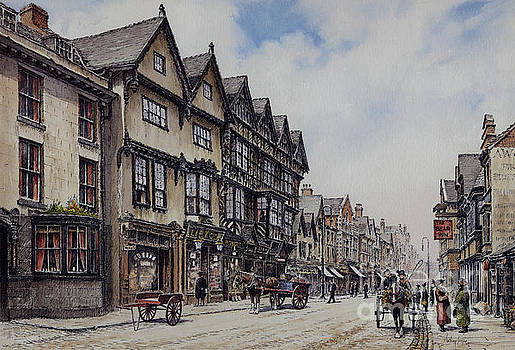 Greengate Street Stafford by Anthony Forster
