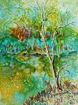 Greens of Late Summer by Carolyn Rosenberger