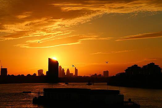 Greenwich Sunset by David Bouchard