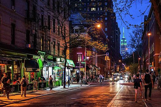 Greenwich Village Streets by Jeffrey Friedkin