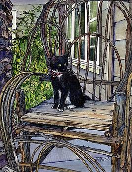 Greeter At the Front Door #1 by Sandi Howell