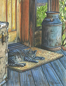 Greeter at the Front Door #2 by Sandi Howell