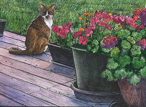 Greeter at the Front Door #3 by Sandi Howell