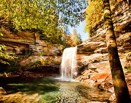 Greeter Falls by Paul Bartoszek