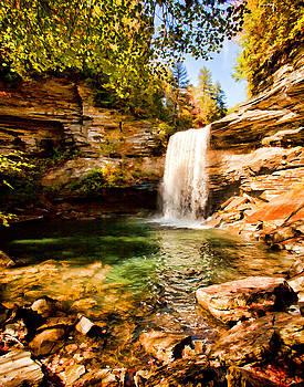 Greeter Falls Pool by Paul Bartoszek