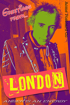 Greetings From London by Ken Surman