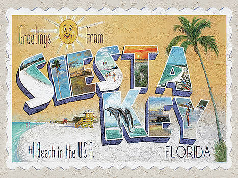 Greetings from Siesta Key by Shawn McLoughlin
