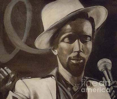 Gregory Isaacs by Isabel Honkonen