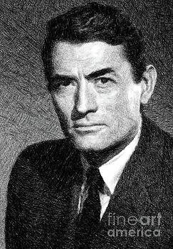 John Springfield - Gregory Peck, Vintage Actor by JS