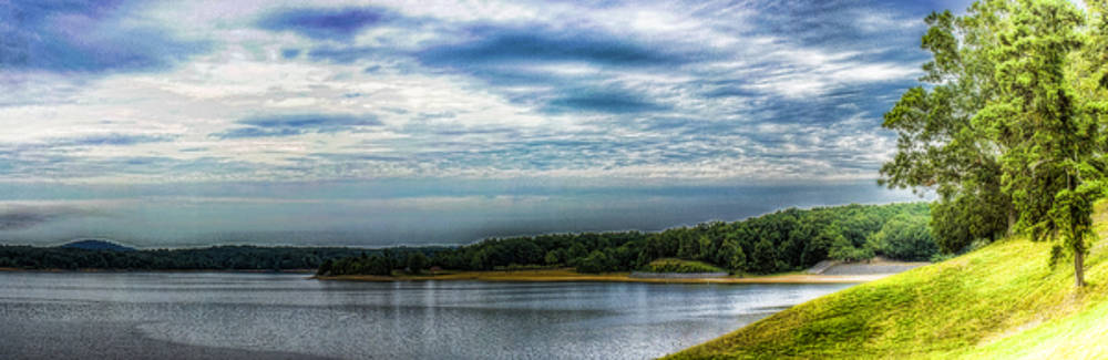 Grenada Lake Panorama by Barry Jones