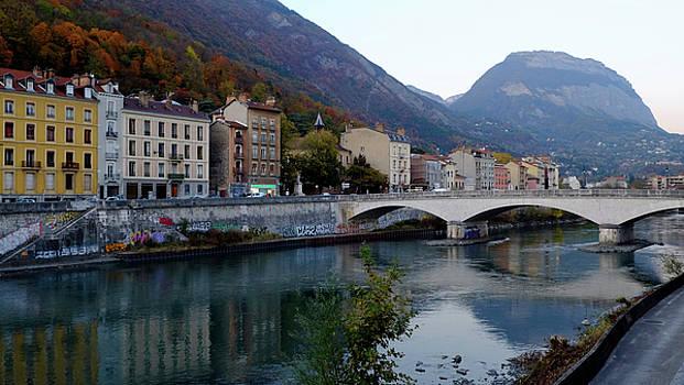 Grenoble Citadelle Bridge by August Timmermans