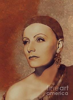 Mary Bassett - Greta Garbo, Movie Legend