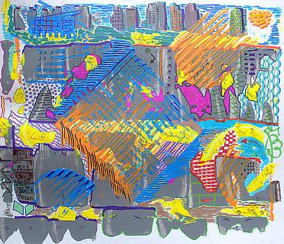 Grey City Warm And Windy by J R Seymour
