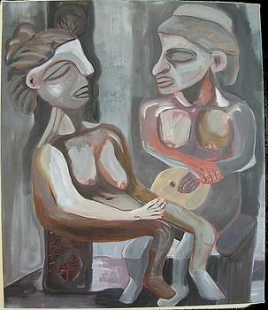Grey Nude by Karen Geiger