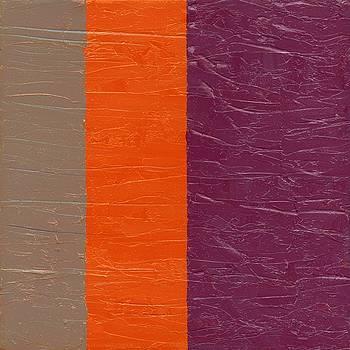 Michelle Calkins - Grey Orange Purple