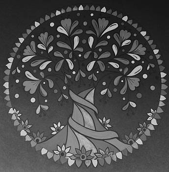 Grey tree6 by Jilly Curtis