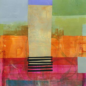 Grid Print 11 by Jane Davies