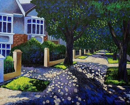 Griffith Avenue Through the Trees by John  Nolan