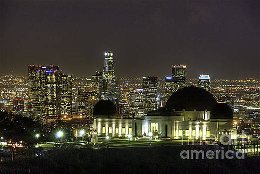 David Zanzinger - Griffith Observatory LA Skyline