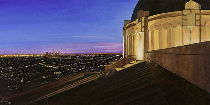 Griffith Park Observatory by Christopher Oakley