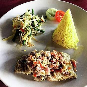 Grilled Tuna With Sambal Matah And by Arya Swadharma