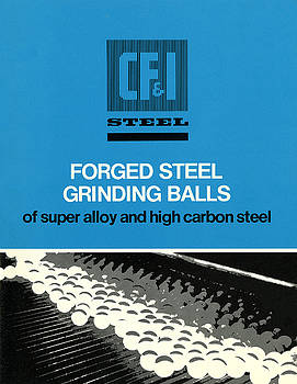 Grinding Balls Catalog by Colorado Fuel and Iron Archives