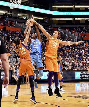 Griner Blocks Sky by Devin Millington