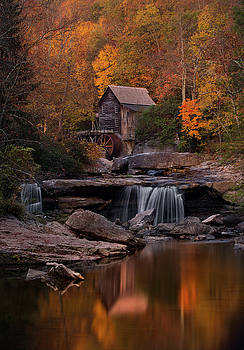 Gris Mill Reflections by Greg Grupenhof