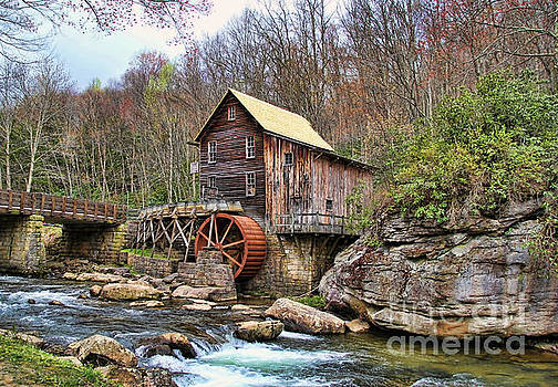 Grist Mill by Anne Pendred