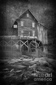 Dan Friend - Grist Mill at Babcock Park with stream