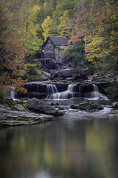 Grist Mill Reflection by Michael Donahue