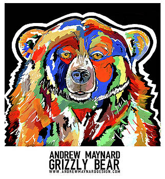 Grizzly Bear by Andrew Maynard