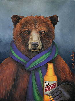 Leah Saulnier The Painting Maniac - Grizzly Beer
