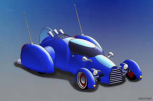 Grobo-car by Ken Morris