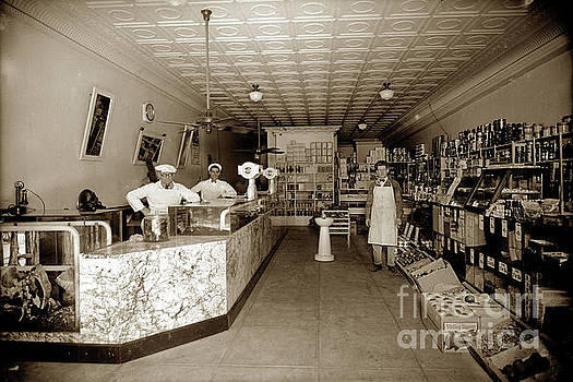 California Views Mr Pat Hathaway Archives - Grocery Store Dry Goods and Butcher Shop  circa 1920