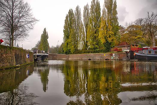 Groningen Canal by Ingrid Dendievel