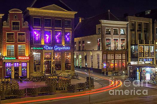 Patricia Hofmeester - Groningen city by night