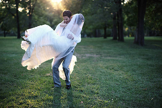 Groom Carrying Bride - F by Gillham Studios